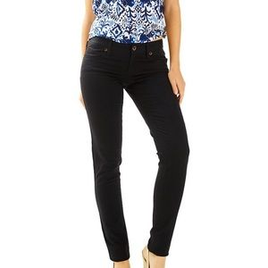 Lily Pulitzer Worth Black Skinny pants